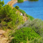 Menorca_Nationalpark Albufera Seebrücke