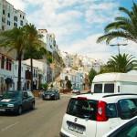 Menorca Mahon Hafenstraße