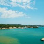 Menorca Mahon Hafenausfahrt