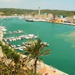 Menorca Mahon Inustriehafen