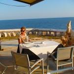 Menorca_Cala en Bosch_Restaurant_Leuchtturm
