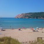 Menorca_Coves de Cala en Turqueta Bucht