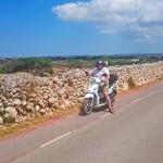 Menorca_Punta Nati Strasse